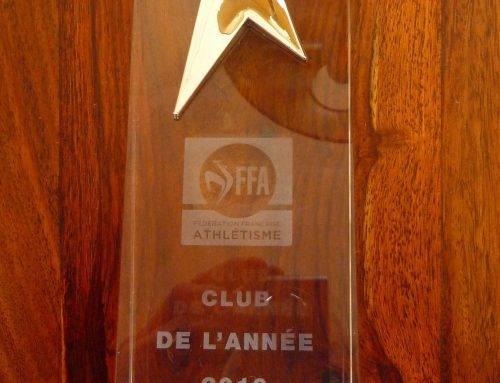 Lauréat 2016 de la FFA pour le Cercle Jules Ferry Saint-Malo Athétisme