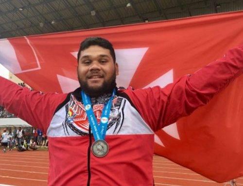 Valao Sélévasio-Ryan du CJF aux Jeux du Pacifique 2017