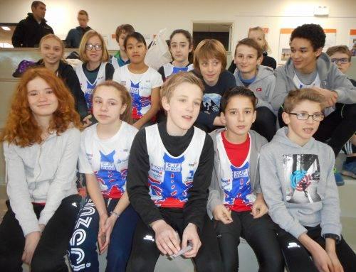 Championnats départementaux BE – MI à Rennes salle Robert Poirier le 24 Février 2018