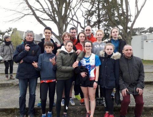 Championnats des Côtes d'Armor de triathlon benjamins/minimes, Saint-Brieuc Le 7 Avril 2018