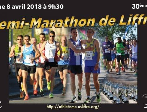 Semi-marathon de Liffré,  le 8 Avril 2018
