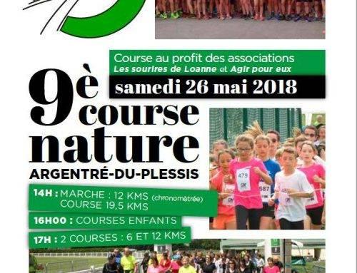 9ème course nature d'Argentré-du-Plessis