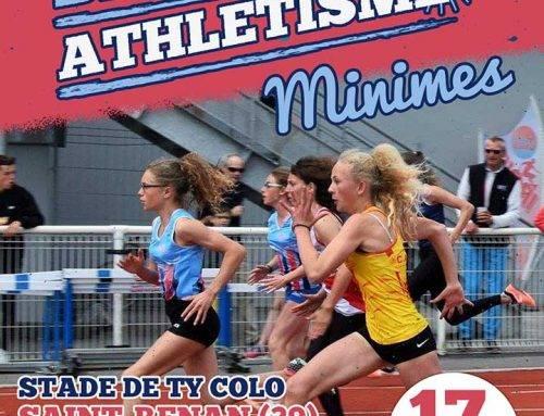 Championnats de Bretagne Minimes , Saint-Renan , le 17 Juin 2018