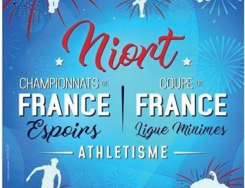 Championnats de France espoirs, Niort les 14 et 15 Juillet 2018