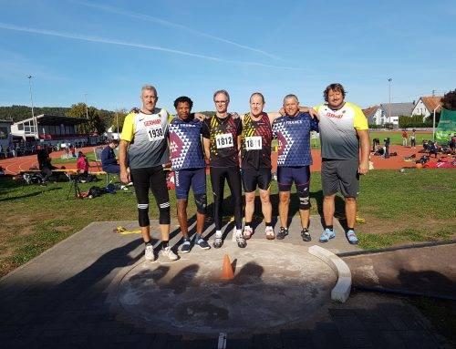 Match Masters BEL-FRA-GER à Rehlingen (GER) le 29 Septembre 2018