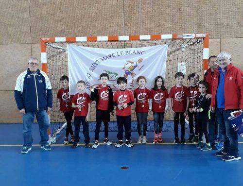 3ème rencontre «Éveils Athlétiques» du secteur nord, Saint-Marc-Le-Blanc 23 Mars 2019