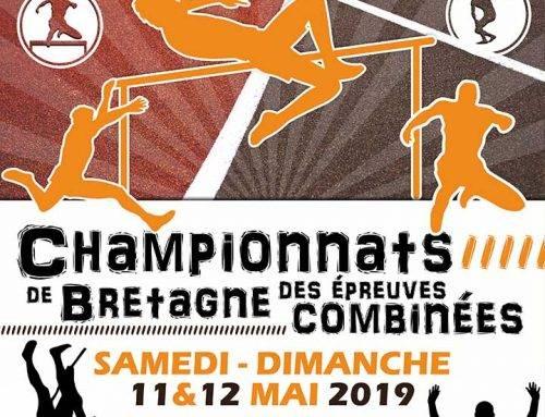 Championnats de Bretagne des Epreuves Combinées, Pont l'Abbé, 11 et 12 Mai 2019