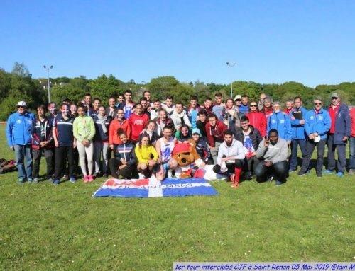 Championnats de France des clubs 2019, 1er tour, Saint-Renan le 5 Mai 2019