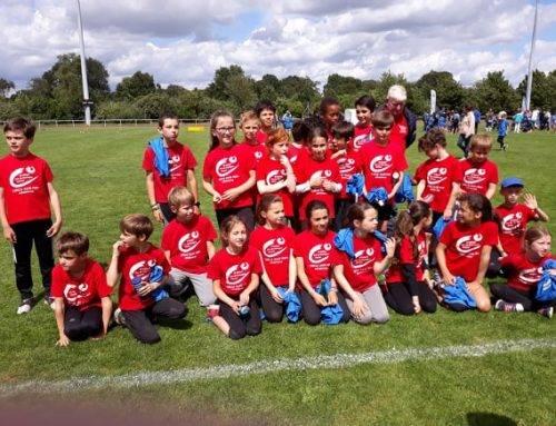 Finale départementale des écoles d'athlétisme EA-PO, Chartres de Bretagne, le 8 Juin 2019