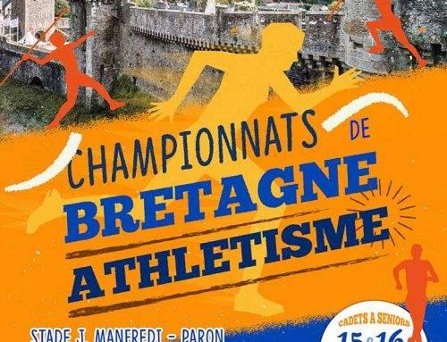 Championnats de Bretagne Cadet et +, Fougères, les 15 et 16 Juin 2019