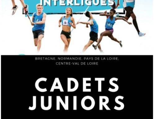 Match Interligues Cadets Juniors, Tours, Le 13 Juillet 2019