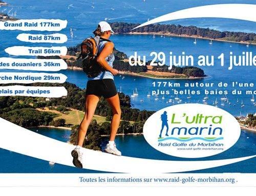 L'Ultra Marin Trail, Golfe du Morbihan, du 29 Juin au 1er Juillet