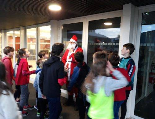 Ecole d'Athlétisme: la magie de Noël était au rendez-vous, le 18 Décembre 2019