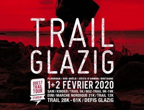 Trail Glazig, Plourhan, le 1 et 2 Février 2020