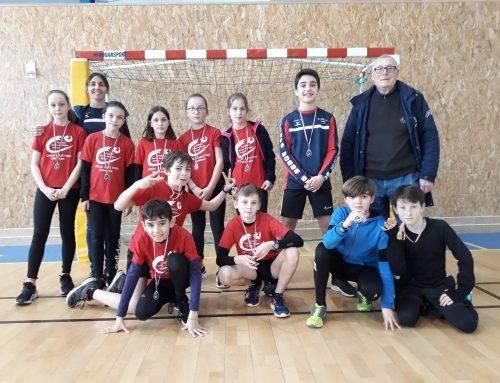 3ème rencontre des Ecoles d'Athlétisme catégorie Poussins du secteur NORD 35, Fougères, le 7 Mars 2020