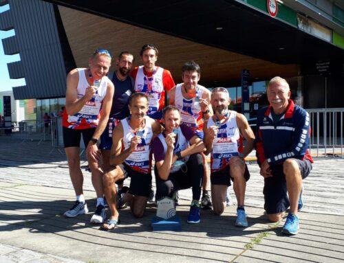 Le CJF Saint-Malo vice-champion de France Master de marathon EKIDEN.