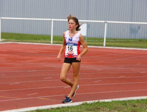 Record de Bretagne minime sur le 2000m Marche Athlétique piste pour Chloé Le Roch