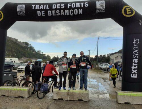 Trail des Forts, Besançon, le 11 Octobre 2020
