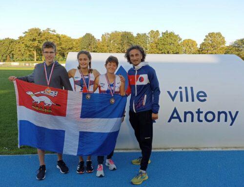 Championnats de France Triathlé (Fédération Française de Pentathlon Moderne), Antony, Les 9 et 10 Octobre 2021